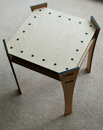 J. Wegesin's square table