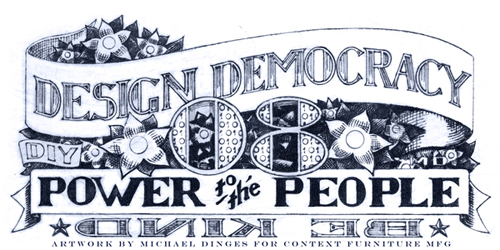 Design Democracy '08 Logo