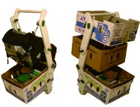 donkey trolley 2 views