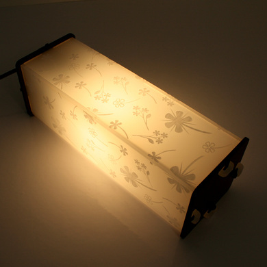 Dan's box lamp