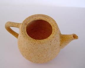 Printed Ceramic Teapot