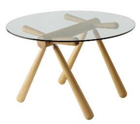 HIDA & Enzo Mari Glass Table
