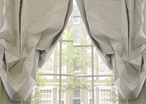 origami curtains