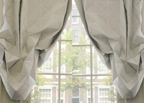 origami curtains