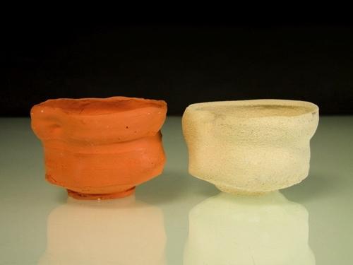 Printed teacup & original