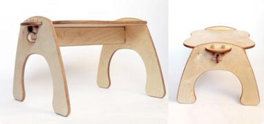 Green Lullaby Bench