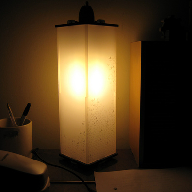 My box lamp