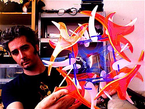 NYC Resistor's Geometric Art