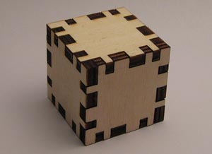 Flightsofideas' cube in Ponoko