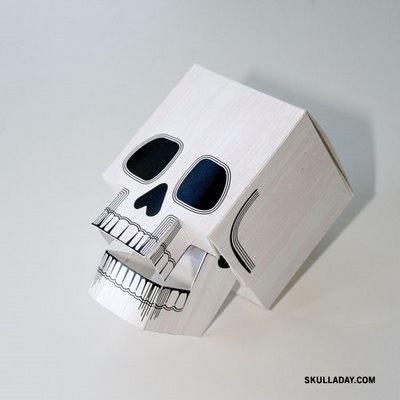 diy 3d print skull