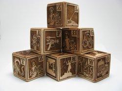 Xylocopa's Mad Scientist Alphabet Blocks