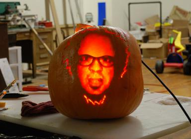 Lumen Lab's CNC Pumpkin carving