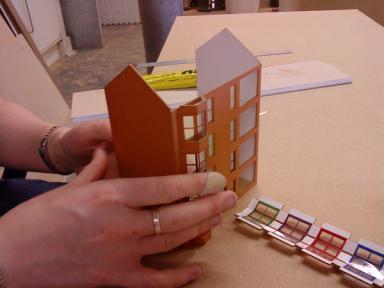 Making the Scottish Tenement Kit