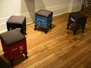 crate stools