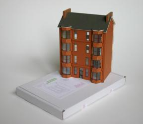Finch and Fouracre's Scottish Tenement kit