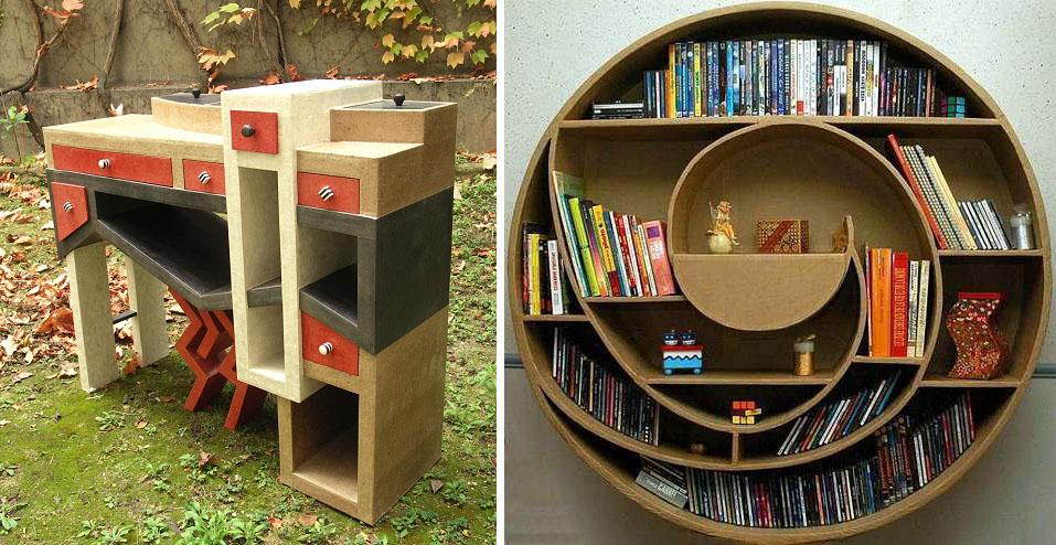 Incredible Cardboard Furniture