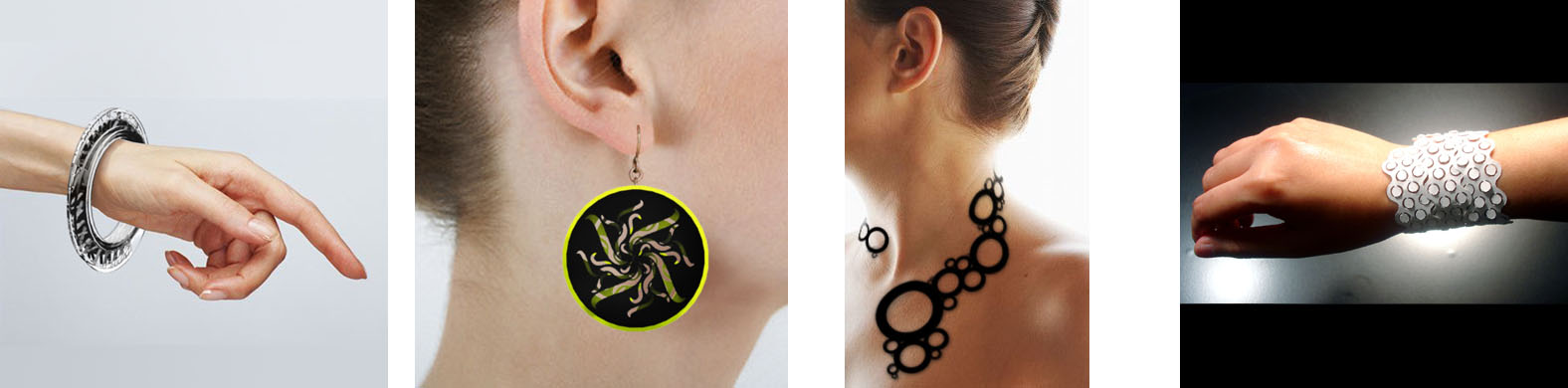 Forty LaserCut Jewelry Designers from A to Z