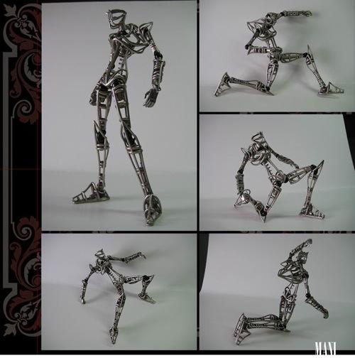 manizamani_3Dprinted_steel_revoltech