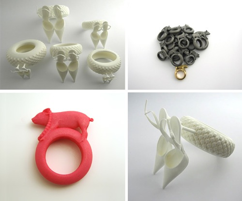 3D-printed jewels