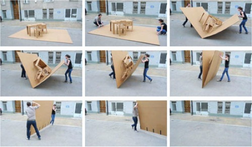 20 inspirational designs made from cardboard « Ponoko – Blog