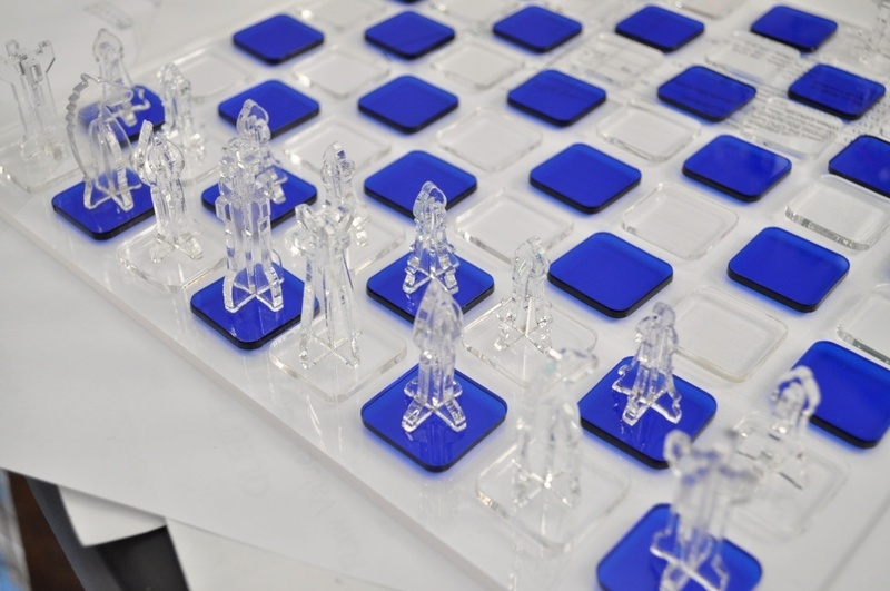 Laser Cut Chess Set