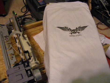 DIY direct to garment printer