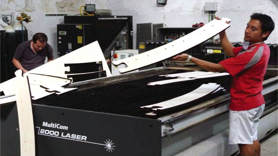 laser cut fab lab solar house