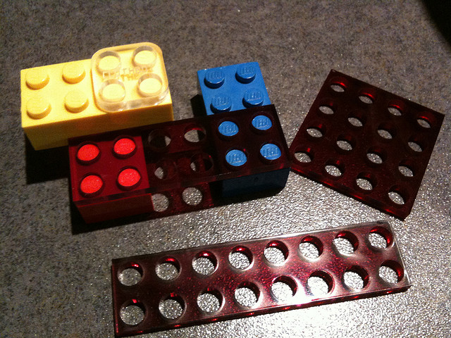 Custom LEGOs with Laser Cutting and 3D Printing