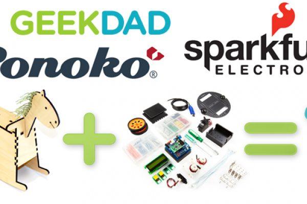 geekdad sparkfun ponoko competition