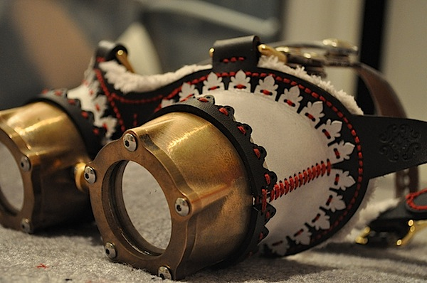 how to make steampunk goggles at home