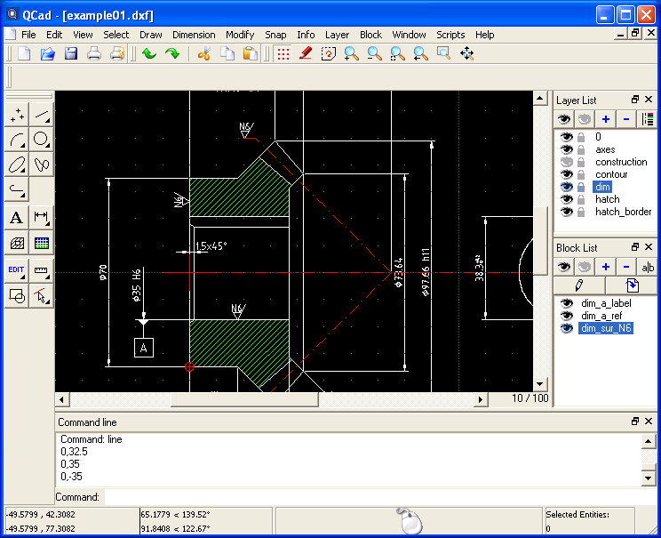 Cheap or free 2d cad ponoko ponoko Free drafting software for windows 10