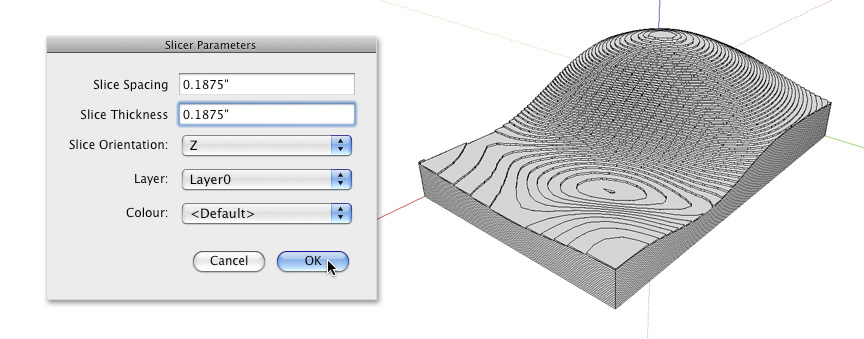 Automatically Slice Your 3D Model for Lasercutting