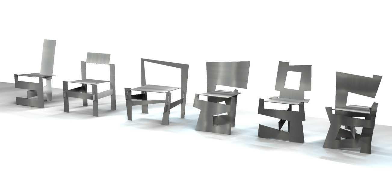 open design chairs u2014 download fabricate assemble and sit