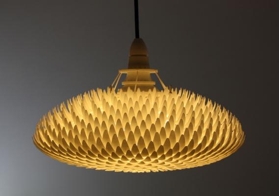 Waratah 3D printed Lamp