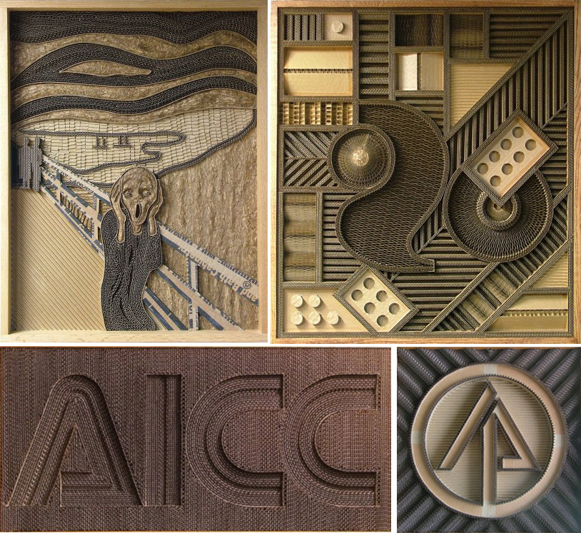 Corrugated Cardboard Artwork