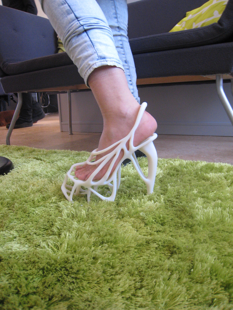 3d Printed Shoes >> 3D Printed Shoes From Scans of Your Feet