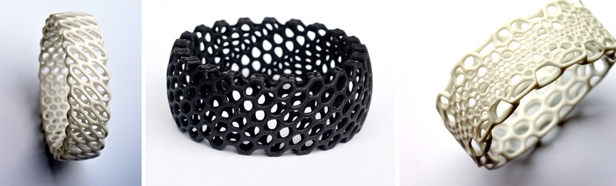 Free jewelry design files for 3D printing from Nervous System