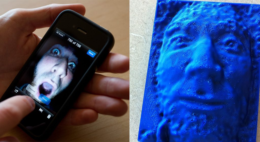 iPhone 3D scan