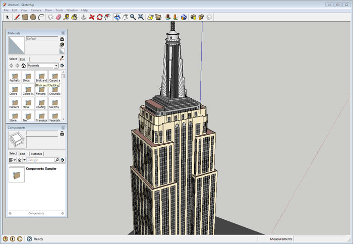 SketchUp, Empire State Building