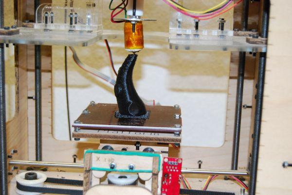 Printed tentacle