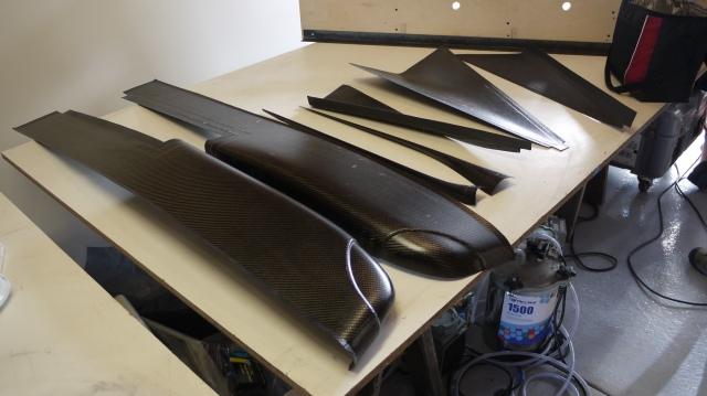 how to make carbon fiber molds