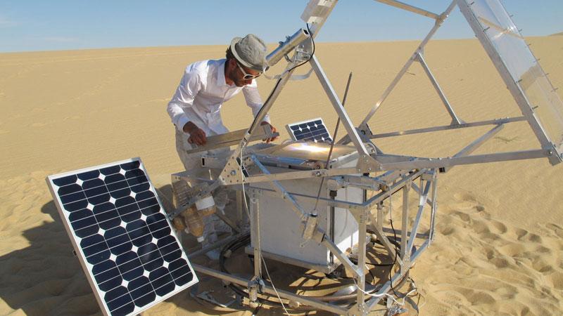 solar sintering