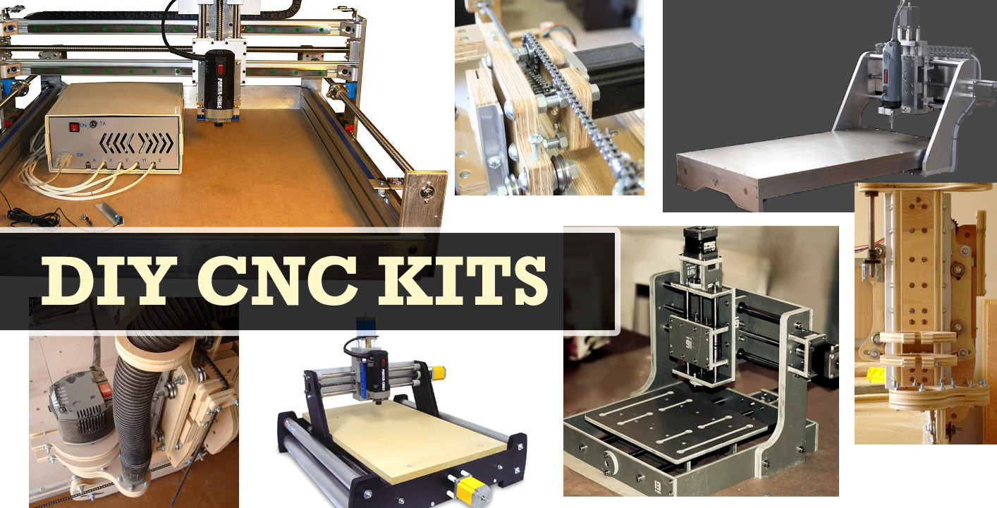 Pricing guide to diy cnc mill and router kits for Home built router