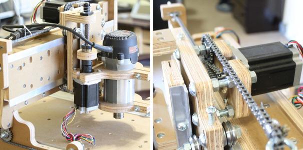Drive Mechanisms Cnc Chain Drive Mechanism
