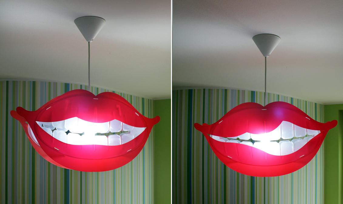 Luscious Lips Lamp Design From Design Smash Milan