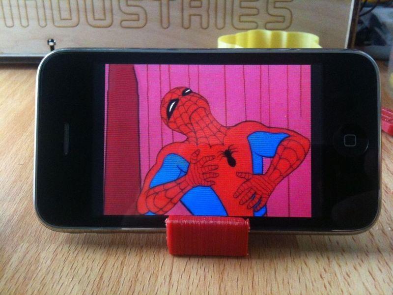 Mini iPhone stand