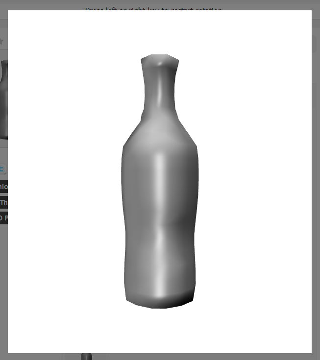 "Original ""wine bottle"" model"