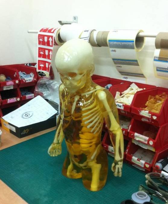 3D printed toddler