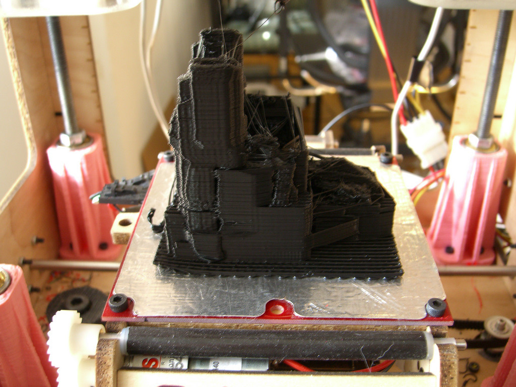 ShapeWright ship, just printed