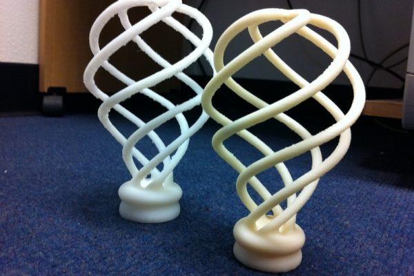 Spiral Lightbulb Sculpture 1 by benglish